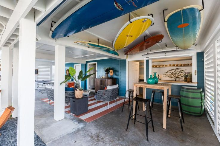 Practically crumbling into the canals they bordered, these brand new decks are unrecognizable. See how Drew and Jonathan created outdoor paradises for their Galveston beach houses in Brother vs. Brother.