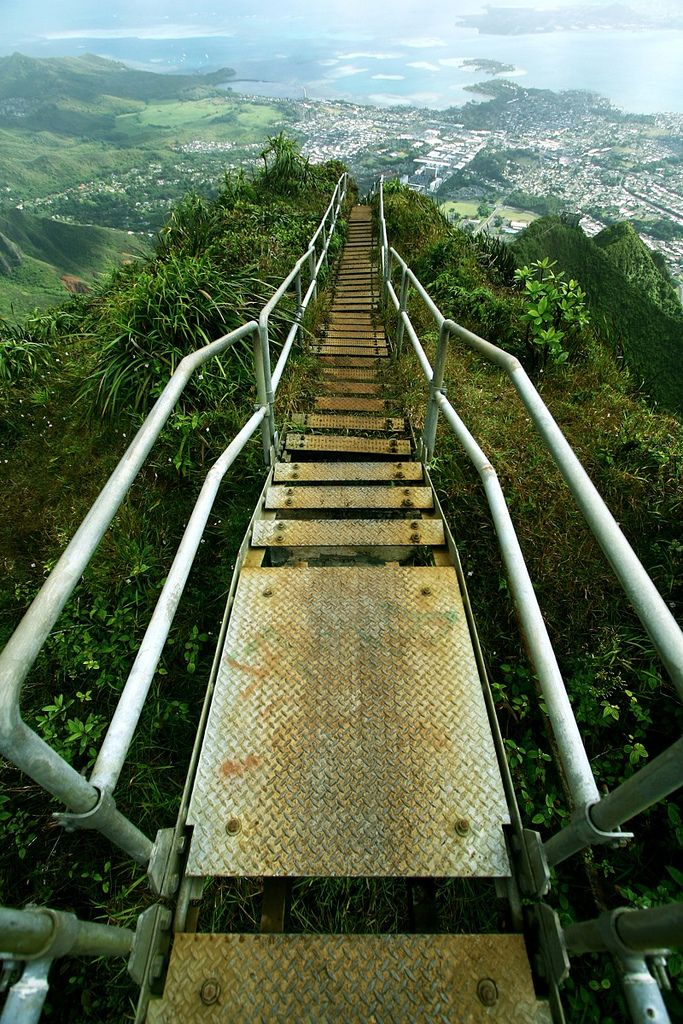 Haiku Stairs - Stairway to heaven | by Priit Siimon