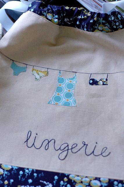 Adorable Lingerie Bag