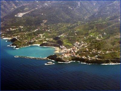 Evdilos, Ikaria Island, Greece
