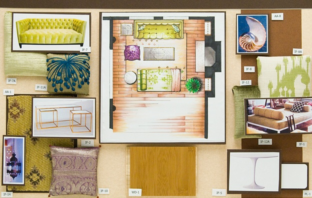 Giovanni residence design by fidm student tara austin learn more about the fidm interior d for What do you learn in interior design