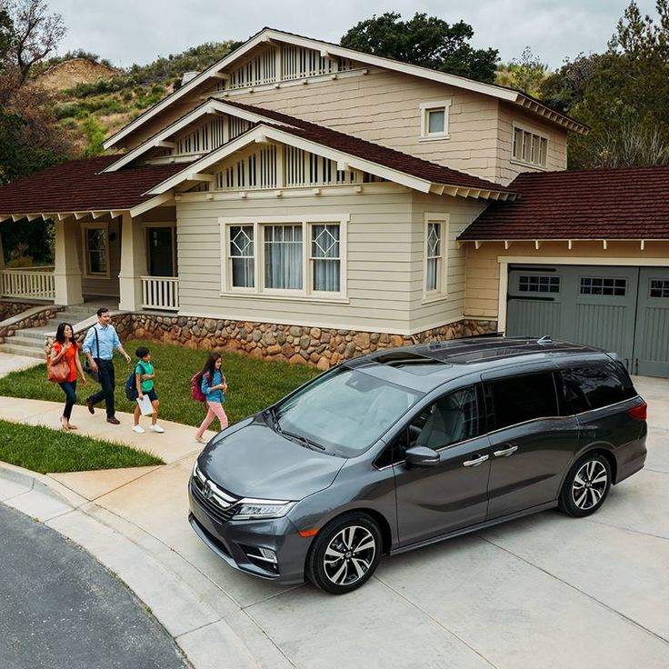 There's something for everybody in the Honda Odyssey. What