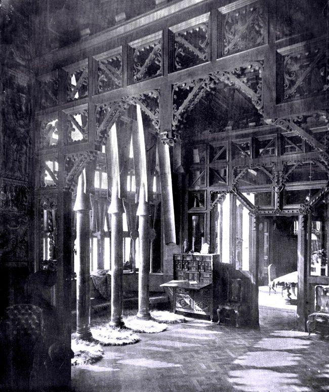 Palau Güell. Barcelona, Spain. 1886-8. Antoni Gaudi.