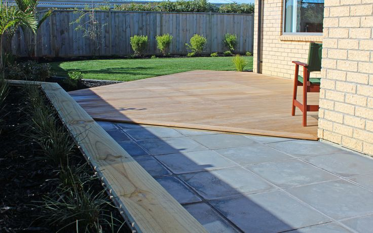 Fine and Functional; Paving, Raised Garden Beds, Vitex Deck, Ready Lawn and Gardens - Hatfields Beach