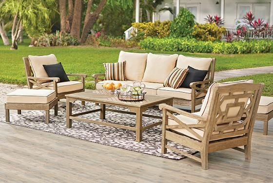 Martha Stewart Living™ Blue Hill 6-Piece Outdoor Deep ... on Martha Stewart 6 Piece Patio Set id=83065