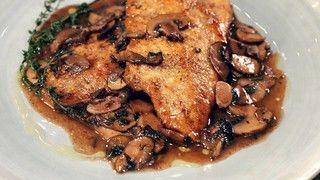 Chicken Scaloppine with Red Wine Mushroom Sauce Recipe | The Chew - ABC.com