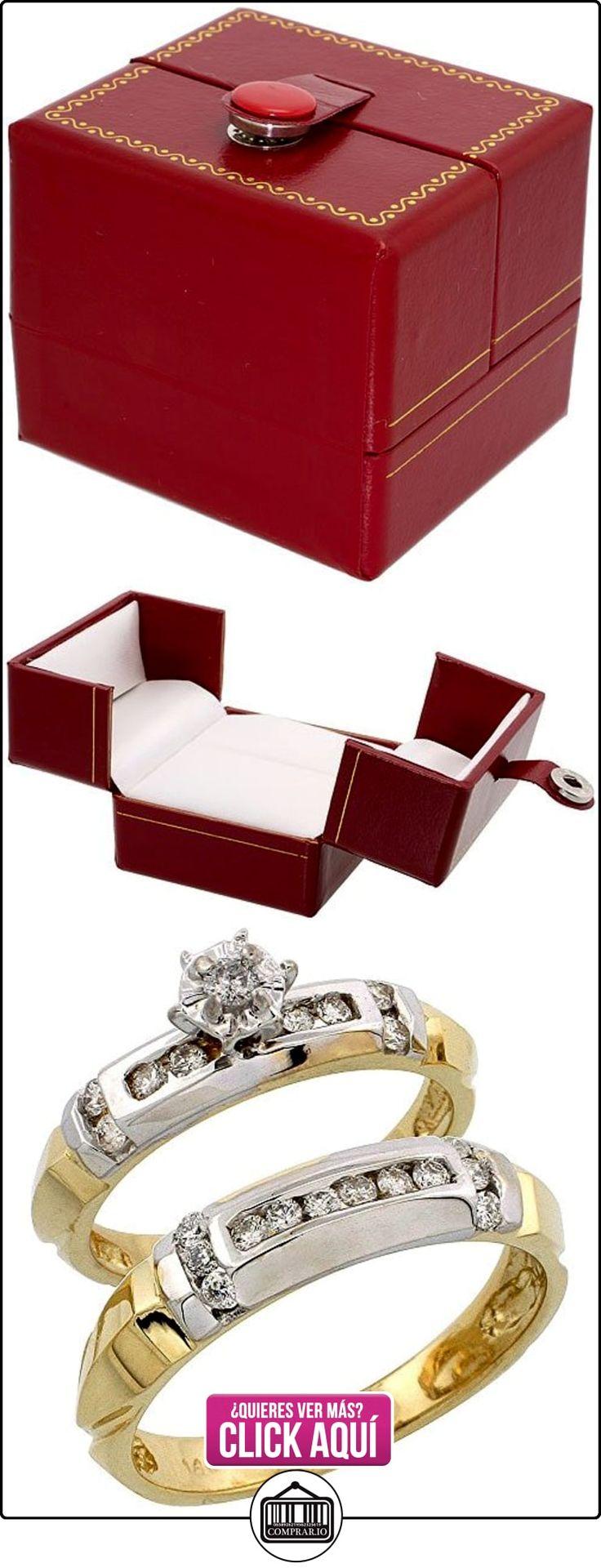 Revoni - Anillo de compromiso de oro amarillo  ✿ Joyas para hombres especiales - lujo ✿ ▬► Ver oferta: https://comprar.io/goto/B004SN1DCY