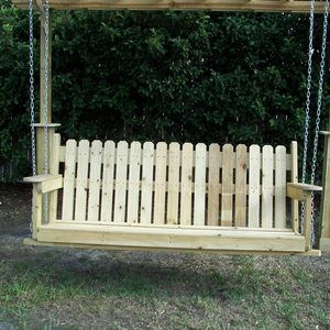 Check out this project on RYOBI Nation - Pergola with a swing set. It is a…