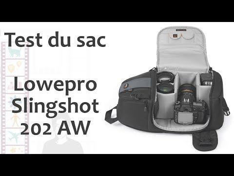 Episode 101 : test du sac Lowepro Slingshot 202 AW - YouTube