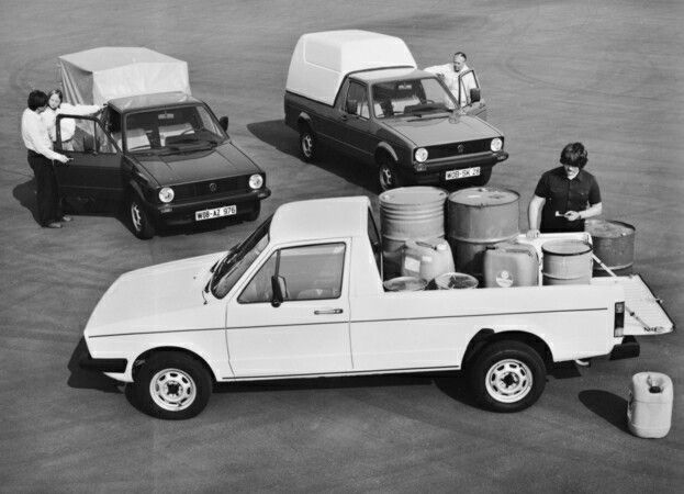 Volkswagen Caddy were made only in Sarajevo for European market from 1983 to 1992.