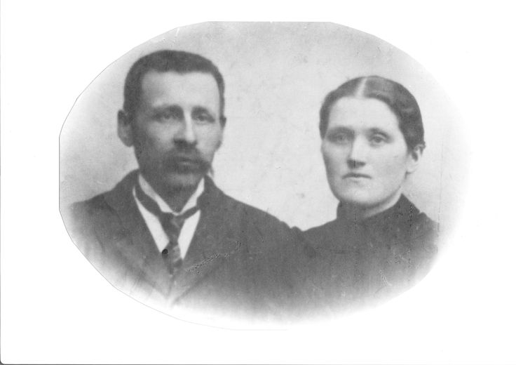 My great great grandparents, Gunnhild Aslaksdotter and Severin Simondsen (father of Simon Lima)