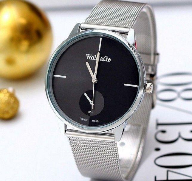 Zegarek Srebrny Męski Bloger Womage EdiBazzar