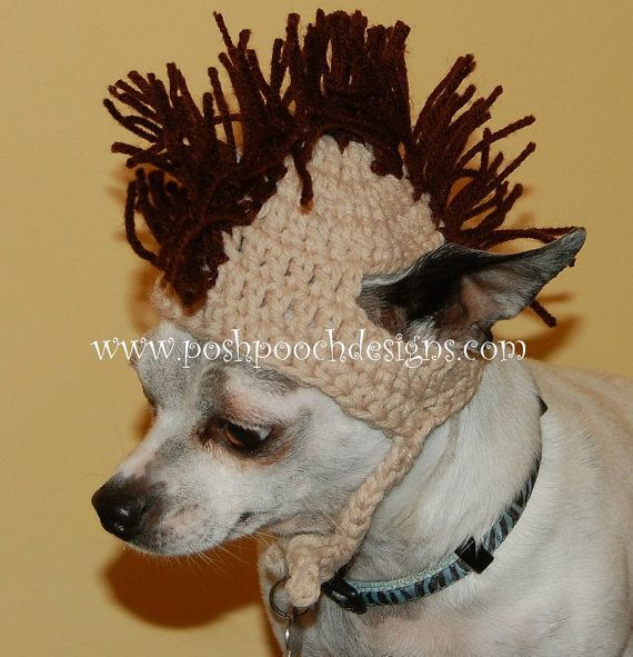 Instant download CROCHET PATTERN Mohawk Dog door poshpoochdesigns
