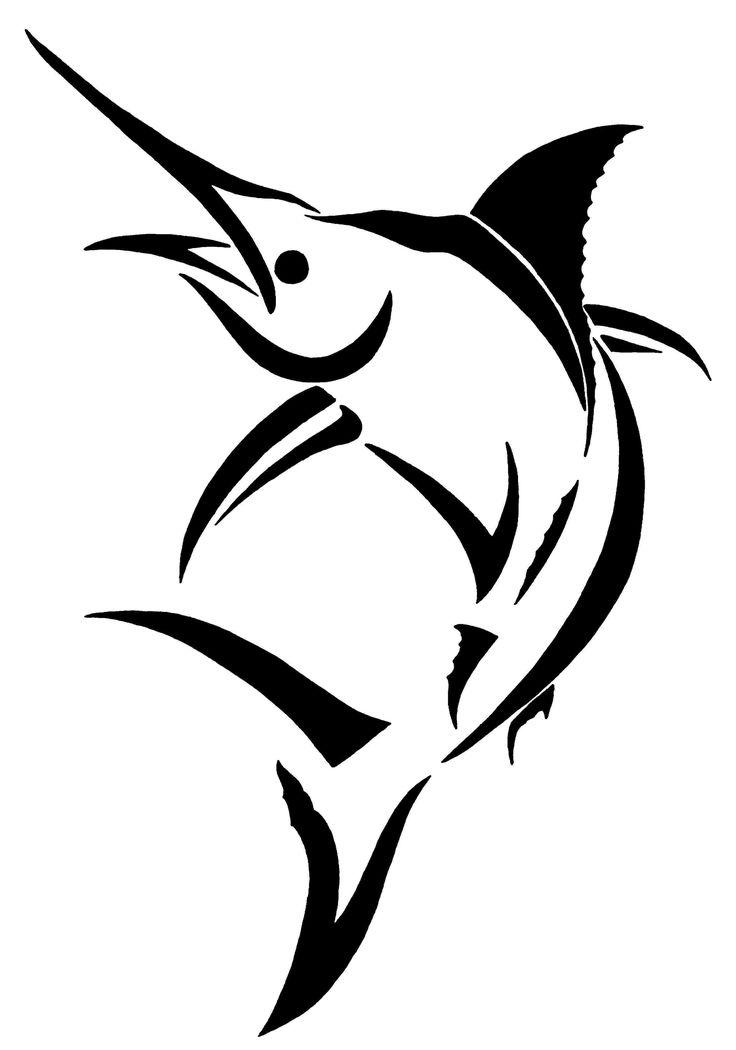 Marlin clip art