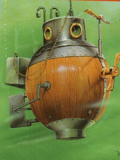 În anul1775, inventatorul american David Bushnell a creat primul submarin ce a fost folosit vreodată într-o luptă. Submarinul mai era numit şi Ţestoasa datorită asemănării cu o broască ţestoasă atunci cand se afla în apă. Bushnell,student la Yale în acele vremuri, a creat pentru ...