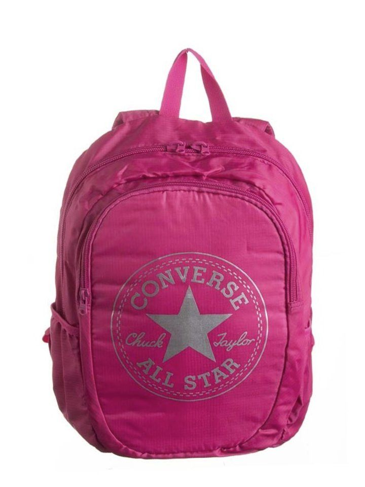 Converse Rucksack in Pink - (B)34 x (H)40 x (T)11 cm