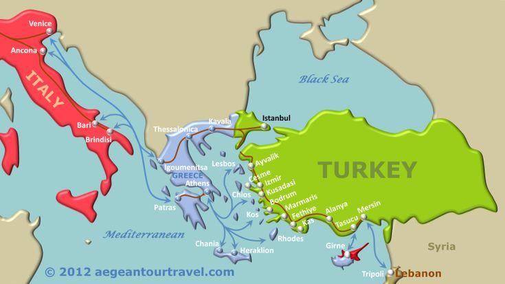 pin turkey map on - photo #38