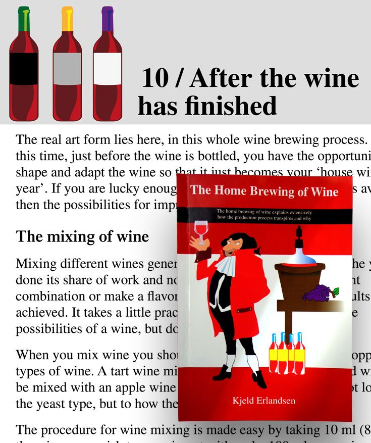 The Home Brewing of Wine explains the process of brewing wine at home. Home production of wine has in the past 10 years undergone extensive development, this includes improved fermentation technology, and a lower chance of error. This book explains this i