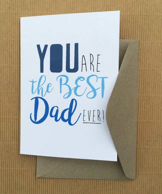 You are the best Dad ever by HeidiLDesign on Etsy