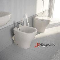 Sanitari in ceramica a terra My. Soluzione ideale per chi vuole avere qualità e risparmio.