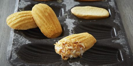 Coconut Almond Madeleines