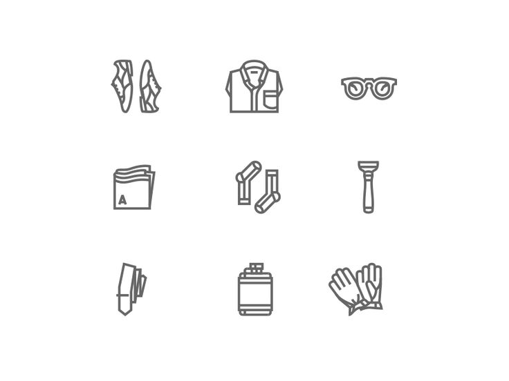 Last week I set out to illustrate nine items I think every man should own right now: • Wingtips • Poplin shirt • Rounded glasses • Pocket square • Tonal socks • Razor • Tie with tie bar • Hip flas...