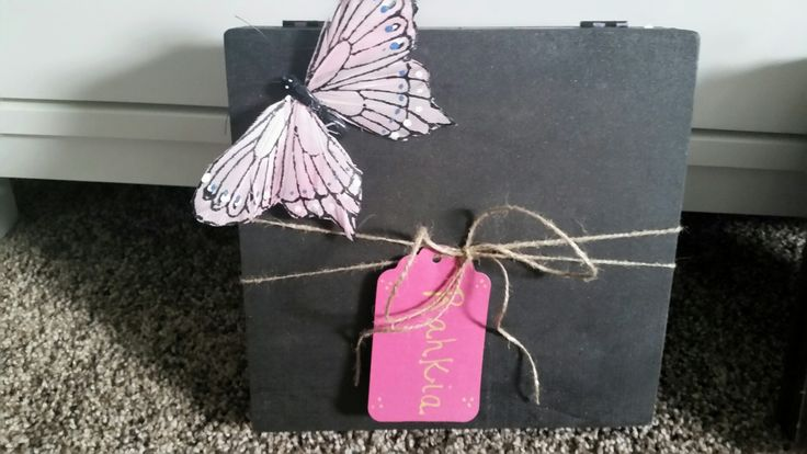 Bridemaid boxes made by me!