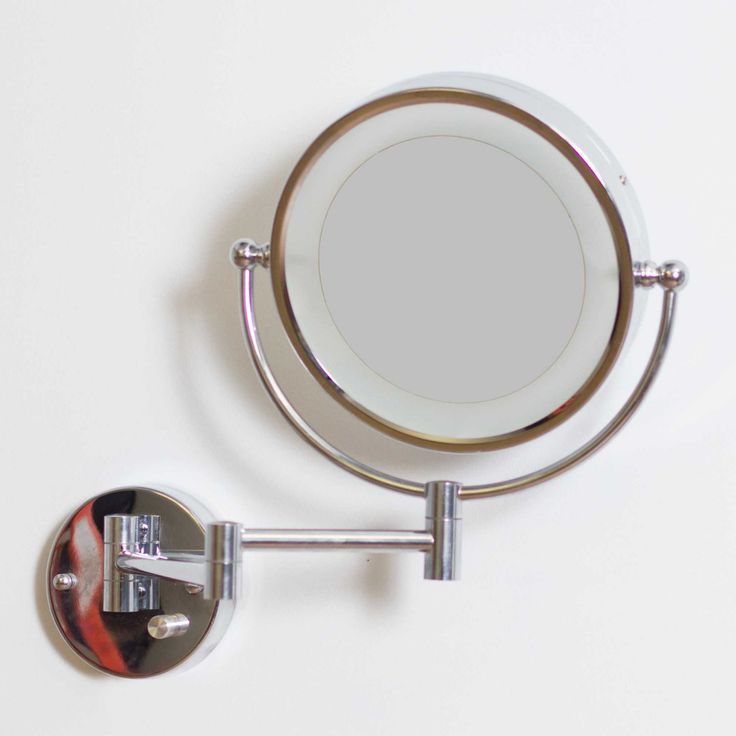 American Imaginations Wall Mount LED Magnifying Mirror - 557