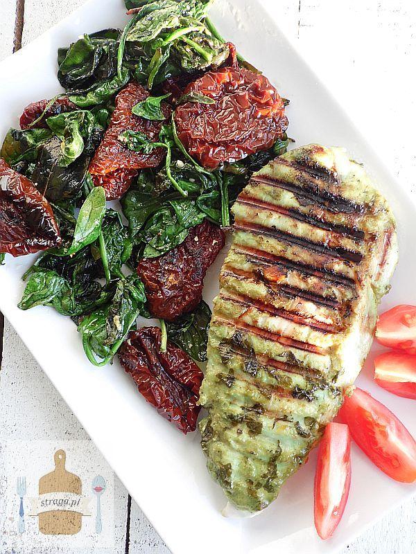 Zielono-czerwony obiad
