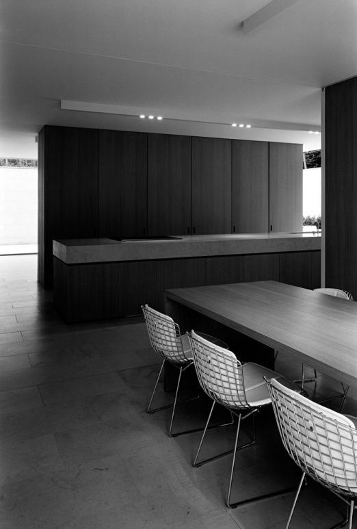 Kitchen - DC Residence in Waasmunster Belgium by Vincent van Duysen.