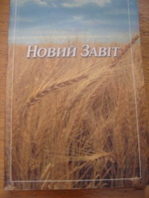 Ukrainian New Testament / Ukranian Novi Zavet