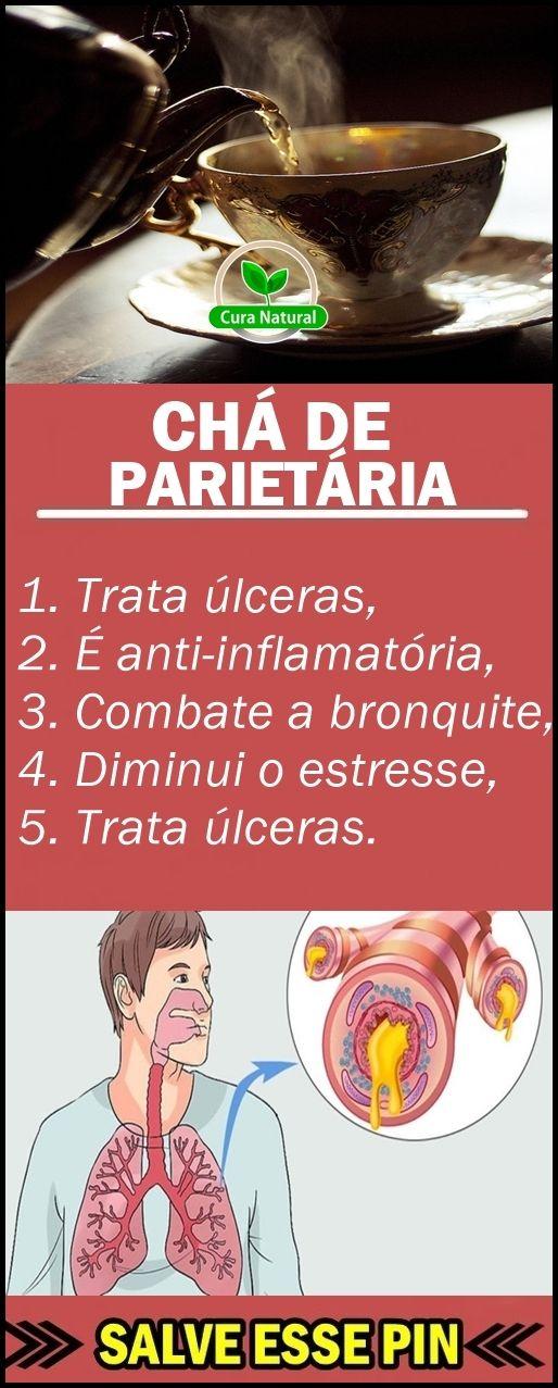 Cha De Parietaria O Que E Beneficios E Como Usar Chas Pinterest