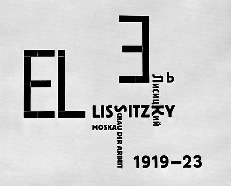 El Lissitzky. See also blog article on Constructivists at http://russianconstructivists.blogspot.be/p/el-lissitzky.html