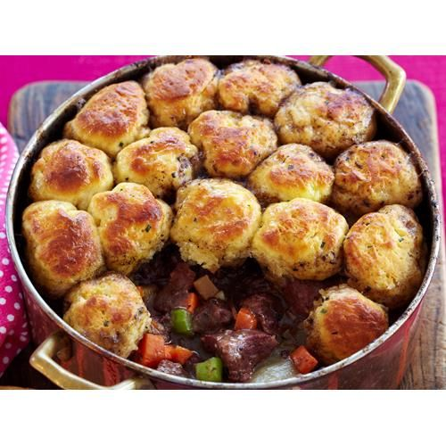 Classic lamb stew with dumplings recipe - By Everyday Food