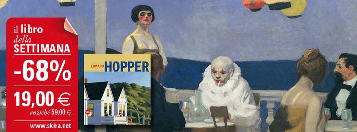 "#LibroDellaSettimana ""Edward Hopper"" con il 68% di sconto! http://www.skira.net/edward-hopper-6440.html"