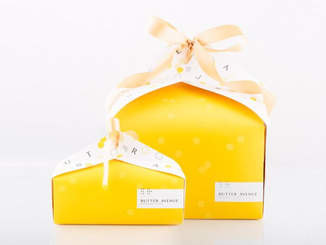 Butter Avenue Patisserie & Cafe on Packaging of the World - Creative Package Design Gallery
