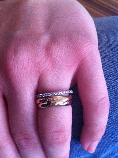 New Cartier Gold Trinity Ring Price Jewellrys Website