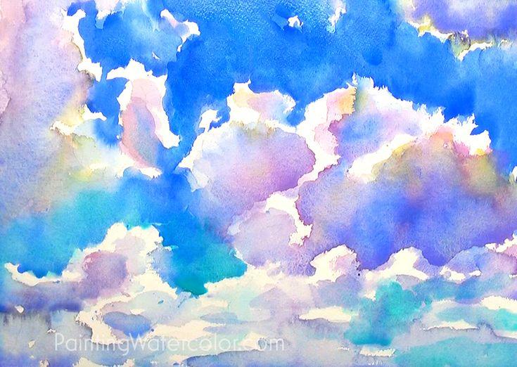 рисунки неба по картинками правильно