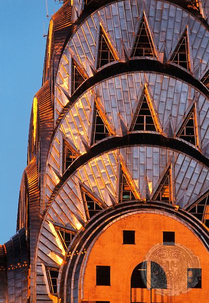 Chrysler Building Facade, Manhattan, New York | HOBERMAN