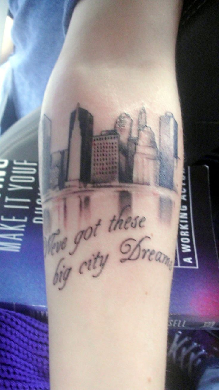 Want this but with the lyrics i swear i 39 d burn this city for All city tattoo