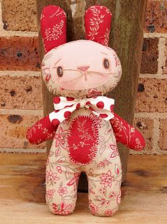 Country Keepsake Dolls: The perfect Easter bunny!
