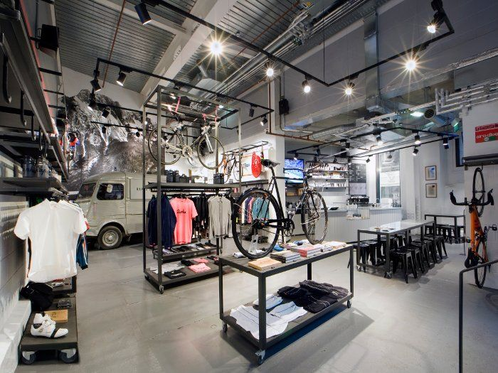The Rapha cycle walk-in stores came after the brand was established online. They offer so much more than sales, trying to build a Rapha cycl...