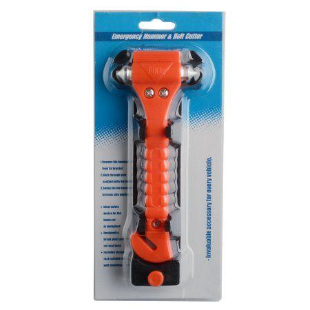 4PCS Auto Safety Emergency Rescue Punch Hammer Car Window Breaker Seatbelt Cutter Escape Tool