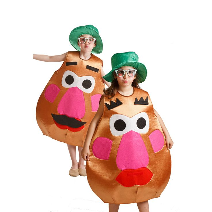Disfraz Señor Potato infantil #disfraces #carnaval