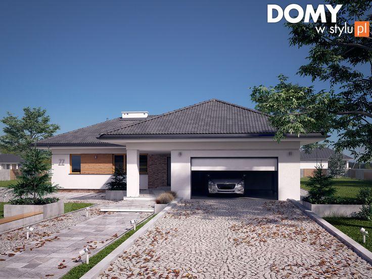 Projekt domu Ambrozja 10 (166 m2). Pełna prezentacja projektu dostępna jest na stronie: https://www.domywstylu.pl/projekt-domu-ambrozja_10.php #ambrozja #domywstylu #mtmstyl #projekty #projektygotowe #dom #domy #projekt #budowadomu #budujemydom #design #newdesign #home #houses #architektura #architecture
