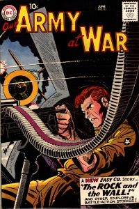 Sell comic books based on war stories