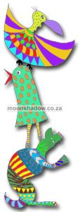 Moonshadow  is a magickal oasis in  beautiful tranquil #Swellendam, a mere hop and skip from Cape Town. Bohemian? Alternative? Arty? Funky? ...Different! (#Moonshadow #SouthAfrica)