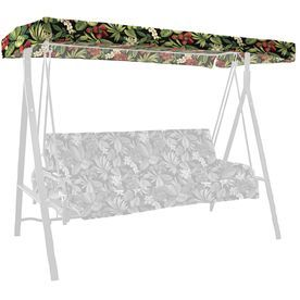 Garden Treasures Sanibel Tropical Porch Swing Canopy Af09814b
