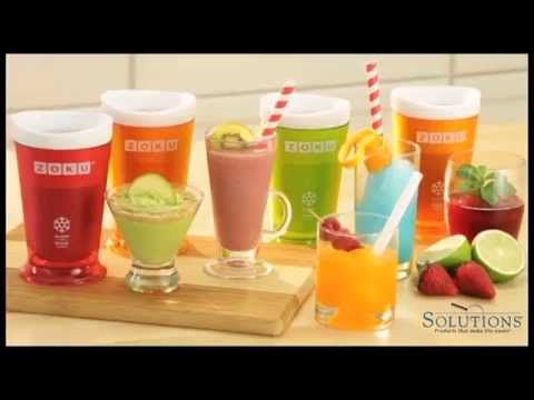 How to use the Zoku Shake & Slushy Maker | Yahoo! Our Zoku Slushy Makers are back in stock!