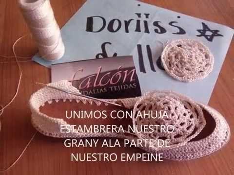 Proceso General Zapato frente circular por Myriam Mora - YouTube